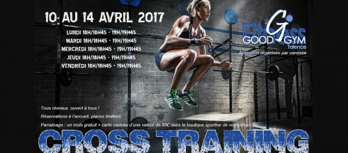 Cross Fit dans votre centre Fitness Goodgym !