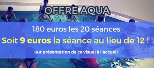 Offre Aqua !